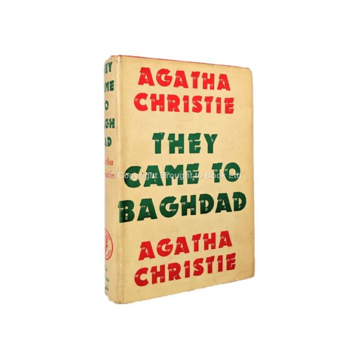 They Came to Baghdad Agatha Christie First Edition The Crime Club by Collins 1951